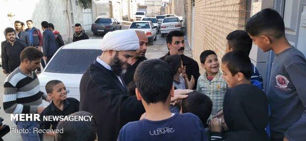 حضور رئیس سازمان تبلیغات اسلامی در بندر ماهشهر