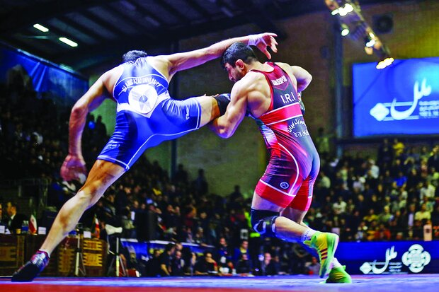 World Wrestling Clubs Cup held in Iran