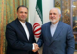 FM Zarif meets with new Iranian envoy to Moscow