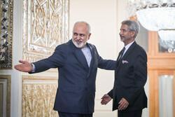 Zarif ile Hindistan Dışişleri Bakanı görüşmesinden fotoğraflar