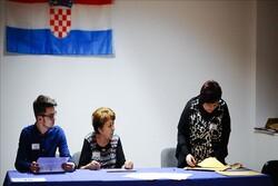 مردم کرواسی به پای صندوق های رای رفته اند