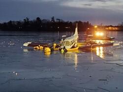 امریکہ میں ایک چھوٹا طیارہ گر کر تباہ/ پائلٹ محفوظ