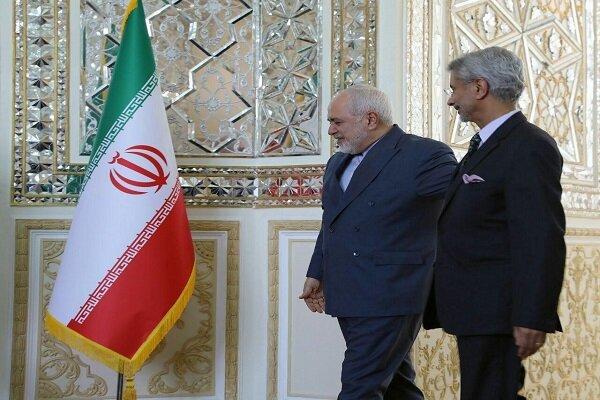 وزیر خارجه هند با «ظریف» دیدار کرد