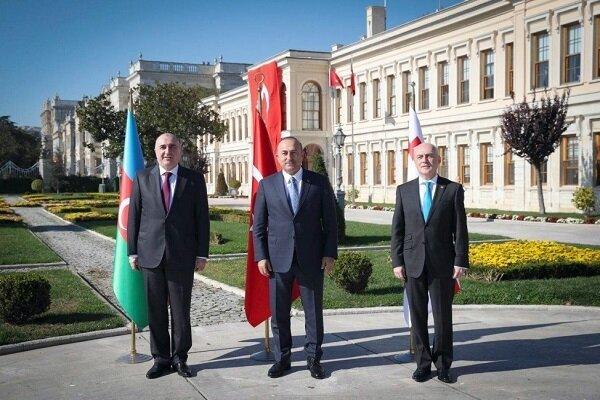 Azerbaycan, Türkiye ve Gürcistan dışişleri bakanları yarın görüşecek