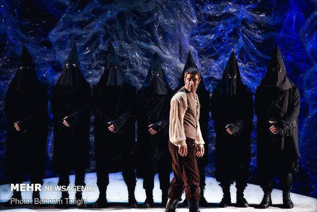 'Frankenstein' on stage in Tehran