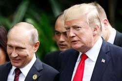 روسی صدر پوتین نے امریکی صدر ٹرمپ کا شکریہ ادا کیا