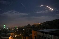سامانه پدافندی سوریه حمله هوایی رژیم صهیونیستی را دفع کرد