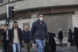 تہران کی فضائی آلودگي جاری