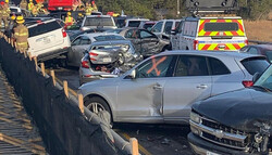 امریکی ریاست ورجینیا میں60 سے زیادہ گاڑیاں آپس میں ٹکرا گئیں