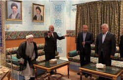 FM Zarif meets with Iranian businesspersons in Oman