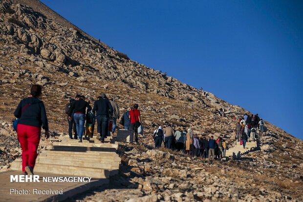 Nemrut Dağı'nın büyüleyici heykellerden fotoğraflar