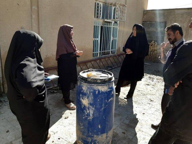 کمک رسانی به مددجویان بهزیستی در روستای «کندرعبدالرضا»