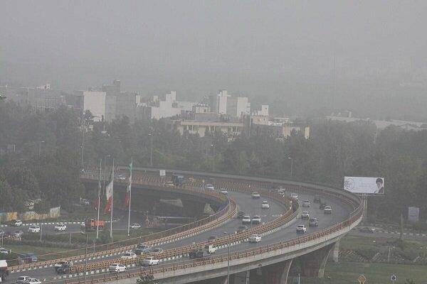 کیفیت هوای مشهد در شرایط ناسالم است