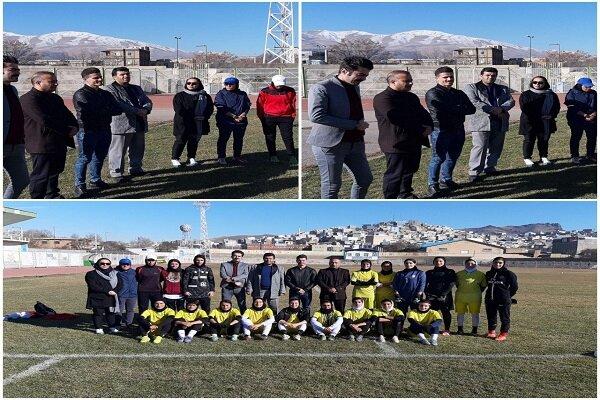 حضور وریا غفوری در  تمرین «وچان» کردستان در آستانه بازی حساس هفته