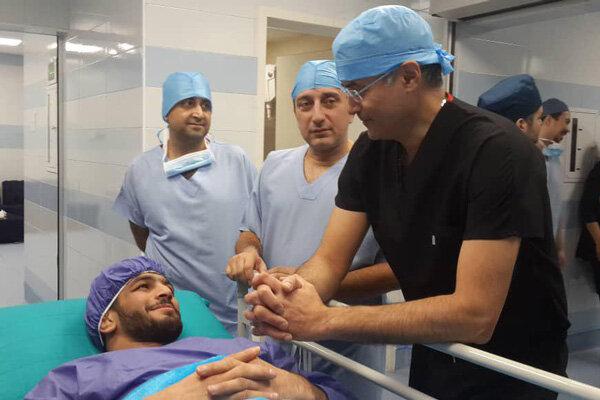 عمل جراحی حسن یزدانی با موفقیت انجام شد/ او به المپیک میرسد