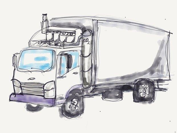 سیستمی که ۹۰ درصد دی اکسید کربن کامیون ها را جمع آوری می کند