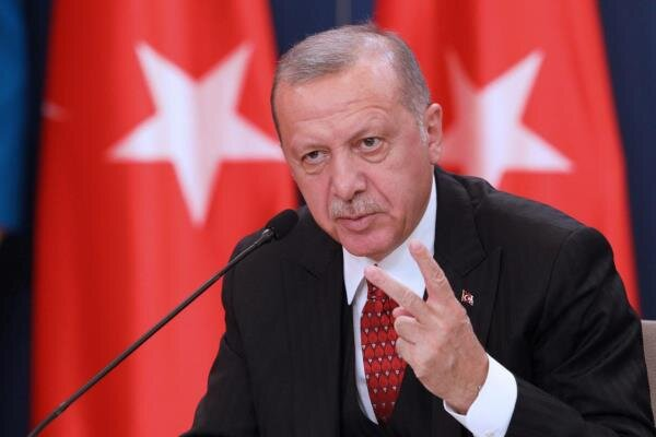 Turkey to never recognize US Mideast plan: Erdogan