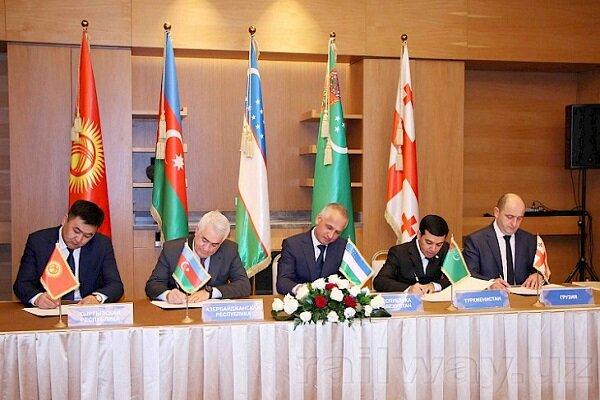 Azerbaycan, Gürcistan, Kırgızistan, Türkmenistan ve Özbekistan hattında ulaştırma anlaşması