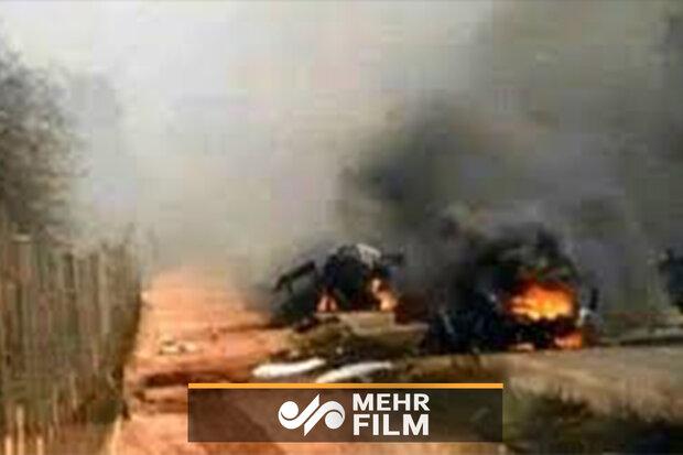 جوانان فلسطینی خودروهای اسرائیلیها را هدف قرار دادند