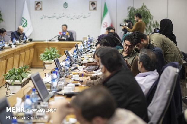 نشست خبری رئیس بنیاد مستضعفان انقلاب اسلامی