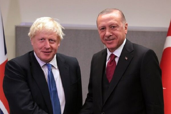 اردوغان و بوریس جانسون درباره لیبی و سوریه گفتگو کردند