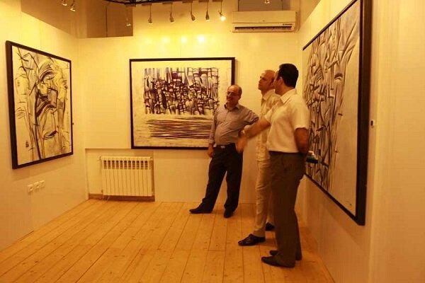 نمایشگاه نقاشی «بوم و بام» در رشت برپا می شود