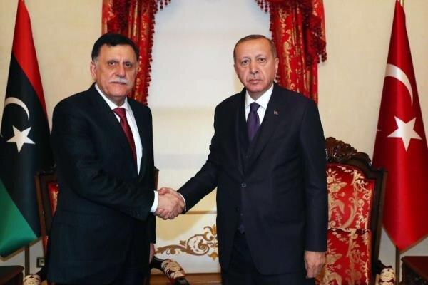 ترکیه تدوین لایحه ای جدید برای اعزام نیرو به لیبی را بررسی می کند