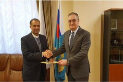 New Iranian ambassador submits credentials to Russian deputy FM