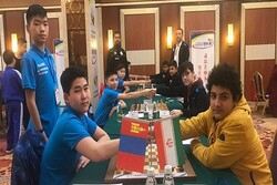 Iran crowned Asian Nations Cup U-14 Chess Team C'ships