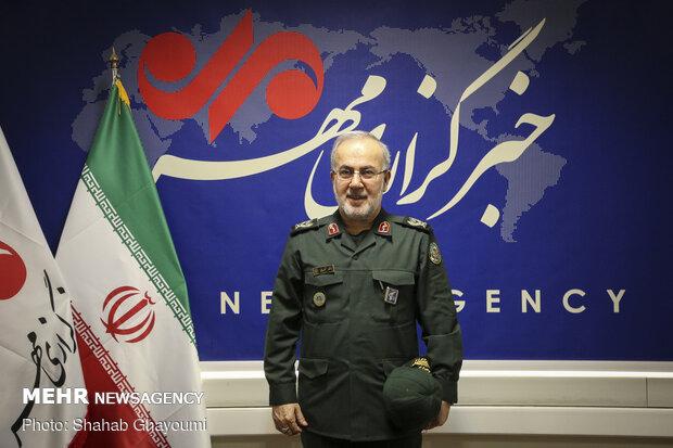 سردار موسی کمالی از خبرگزاری مهر بازدید کرد