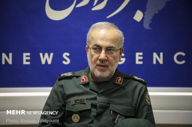 Brig. Gen. Moussa Kamali's visit to MNA HQ
