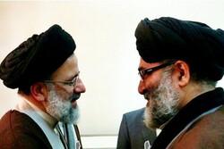دیدار آیت الله رییسی با رییس شورای هماهنگی تبلیغات اسلامی تهران