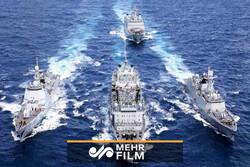 ایران ، چین اور روس کی مشترکہ فوجی مشقوں کا آغاز