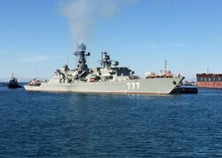 VIDEO: Russian, Chinese flotilla arrive at Chabahar Port
