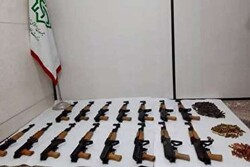 Iran seizes haul of weapons meant to be used for riots