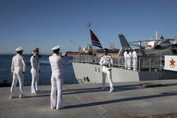 """وصول السفن الروسية والصينية الى ميناء """"شهید بهشتی"""""""