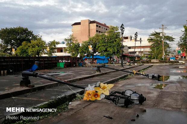 کریسمس طوفانی در فیلیپین