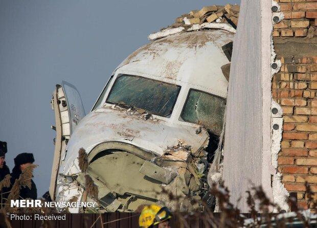 تحطم طائرة ركاب في كازاخستان