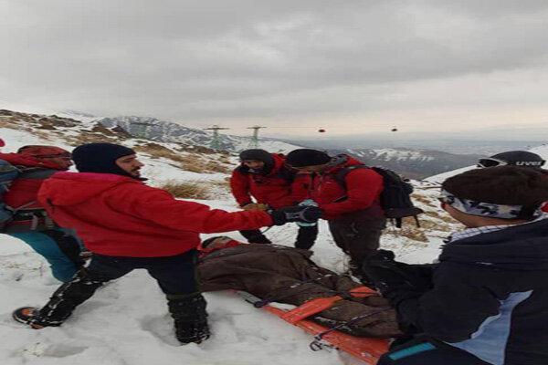 پایان عملیات امداد و نجات در توچال /یک فوتی و یک مصدوم