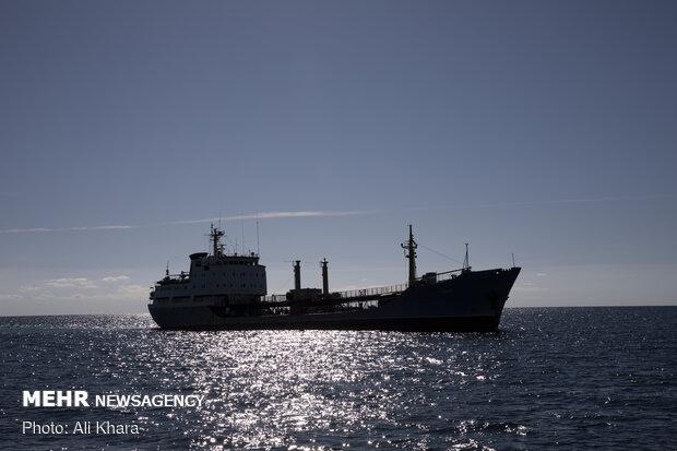 ورود ناوهای روسیه و چین به بندر شهید بهشتی چابهار