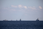 A ship targeted off Oman, British military group says