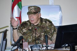 Algeria's powerful Army Chief Major- General Ahmed Gaid Salah