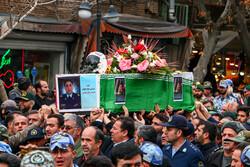 شہید محمد رضا رحمانی کی تشییع جنازہ
