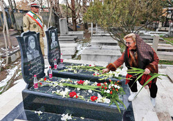 Iranian religious minorities pay tribute to martyrs