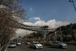 انخفاض معدل تلوث الهواء في العاصمة الايرانية