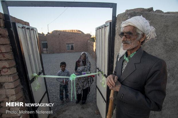 افتتاح ۲۰۰۰ واحد مسکونی محرومین در خراسان جنوبی