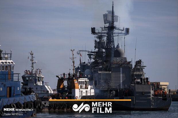ایران، روس اور چین کی بحری مشقوں کا سلسلہ جاری