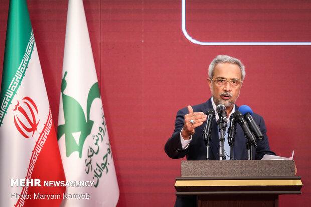 محمد نهاوندیان معاون اقتصادی رئیس جمهور در افتتاح پنجمین جشنواره ملی اسباب بازی