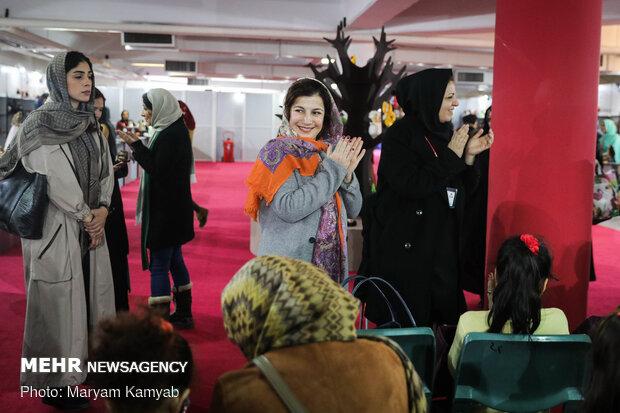 حضور لیلی رشیدی در افتتاحیه پنجمین جشنواره ملی اسباب بازی