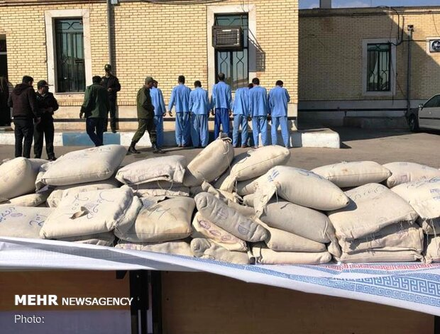 Police bust 400kg of drugs in Yazd province